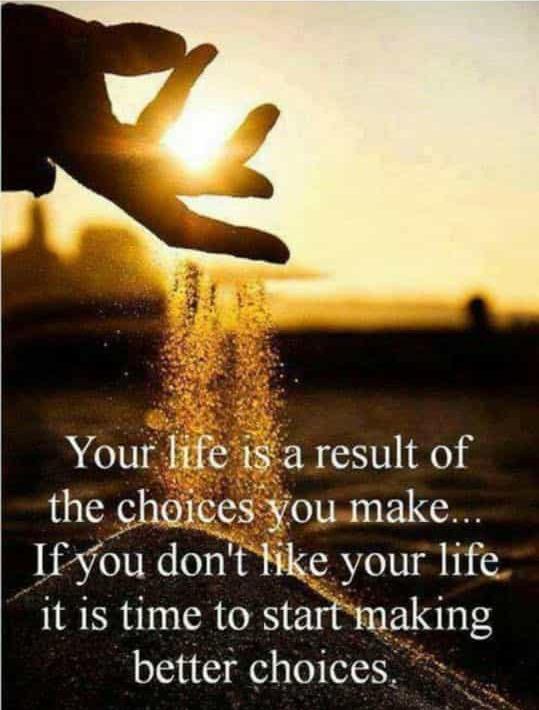 lev dit liv mens du har det