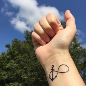 tatto bekæmp angst